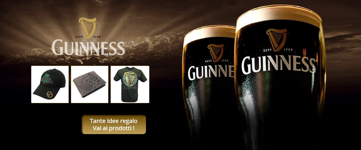 Idee regalo Guinness