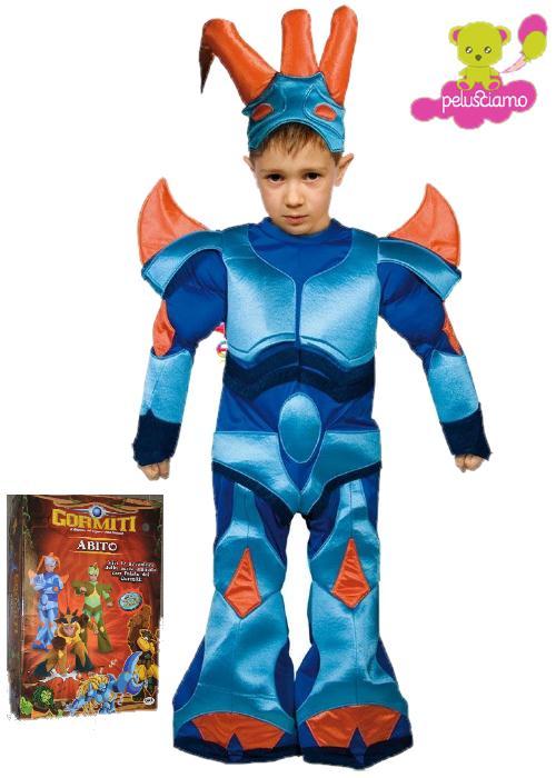 Costume carnevale bambino cartoni animati gormiti mare