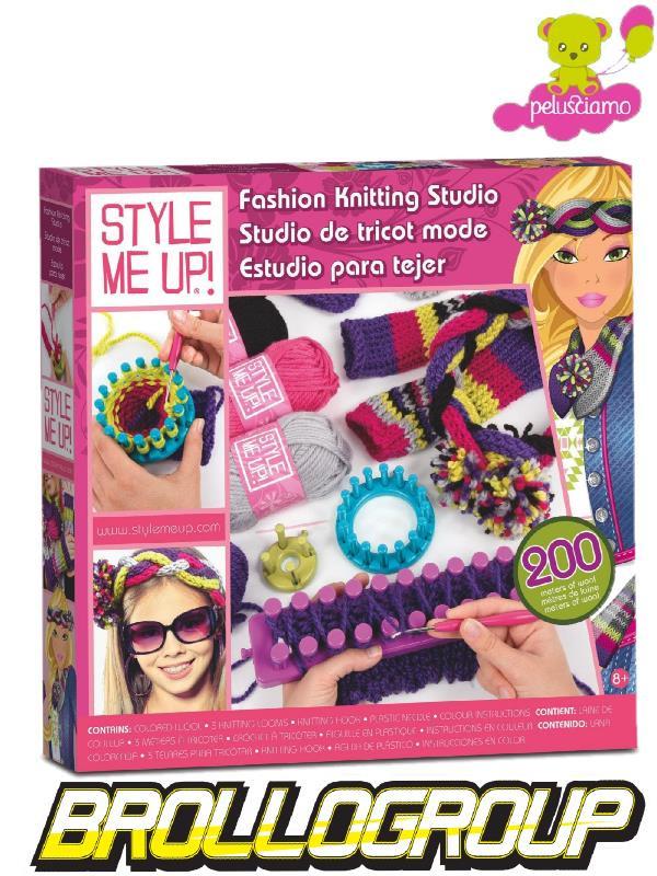 Giocattoli Per Bambine Gioco Style Me Up Studio Fashion Laboratorio Crea Moda 00407