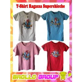 T-Shirt Maglietta Ragazza Superchicche
