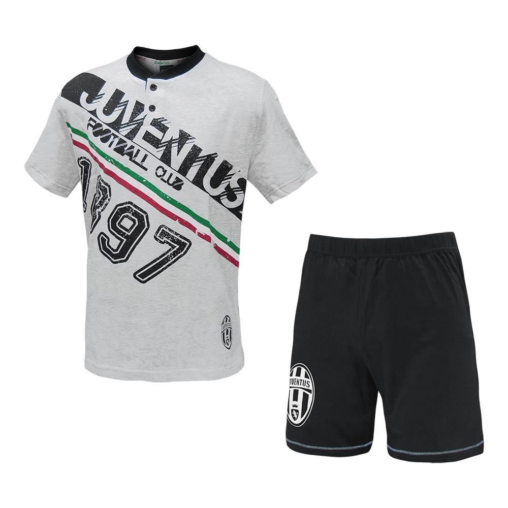 d4e12d02c9 Pigiama Juve Estivo maglia e pantaloncini Abbigliamento Juventus PS 24986 3  3 di 4 ...