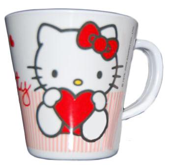 Tazza Hello Kitty Melamina accessori Prima Infanzia *11072