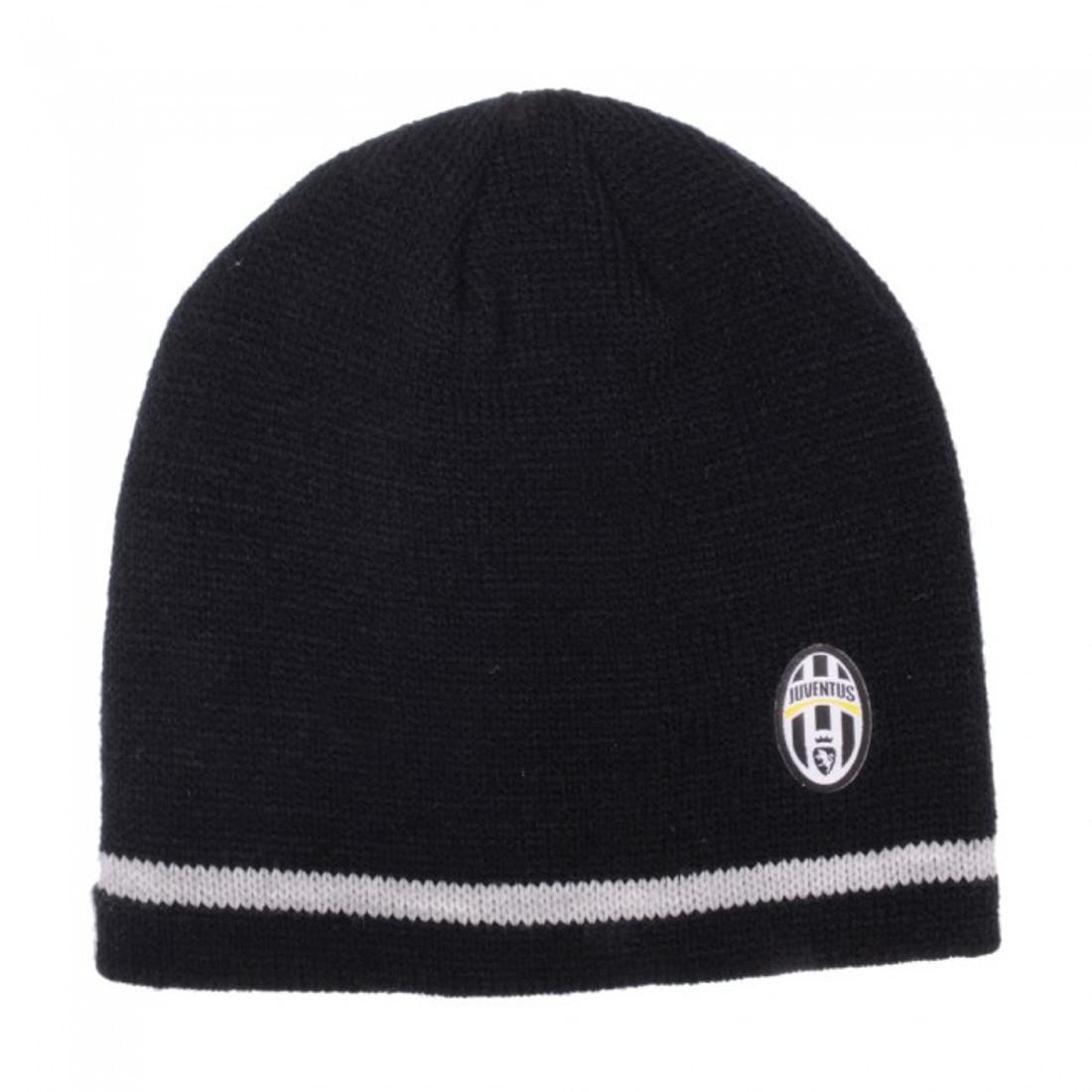 Cappello cuffia bordino tifosi Juve abbigliamento ufficiale Juventus  01183 d2da0fa550f1