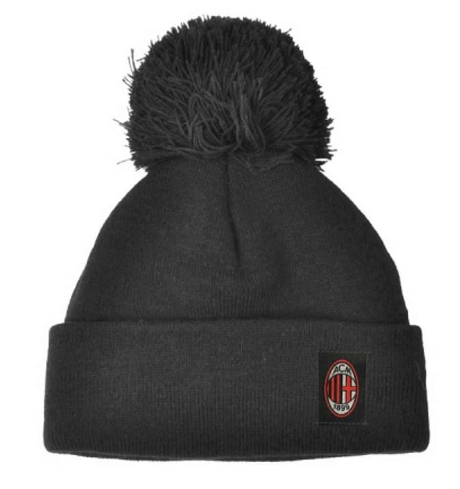 Cappello Adulto Invernale Ponpon Ac Milan PS 10311  01820358a7ec