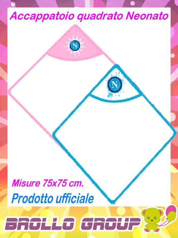 Favori quadrato bimbo bimba Ssc Napoli calcio SK91