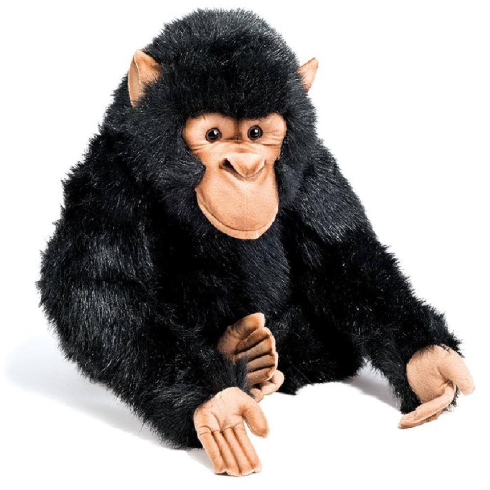 Peluche Scimmia Scimpanze' 46x40x41 Cm Peluches Realistici Hansa PS 13290 pelusciamo store Marchirolo