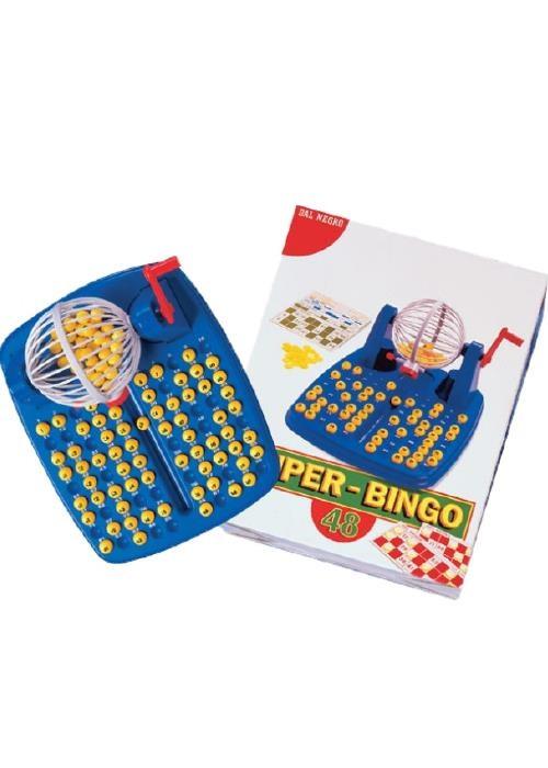 Gioco di societ super bingo tombola giocattolo da tavolo - Tombola gioco da tavolo ...