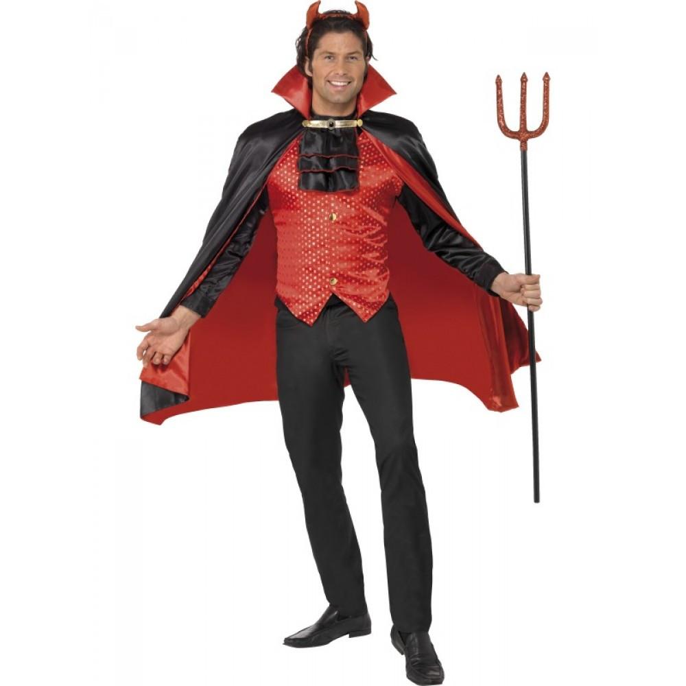 Costume Halloween Carnevale Adulto Diavolo demonio Lord Devil Smiffys 55b71e3aae6b