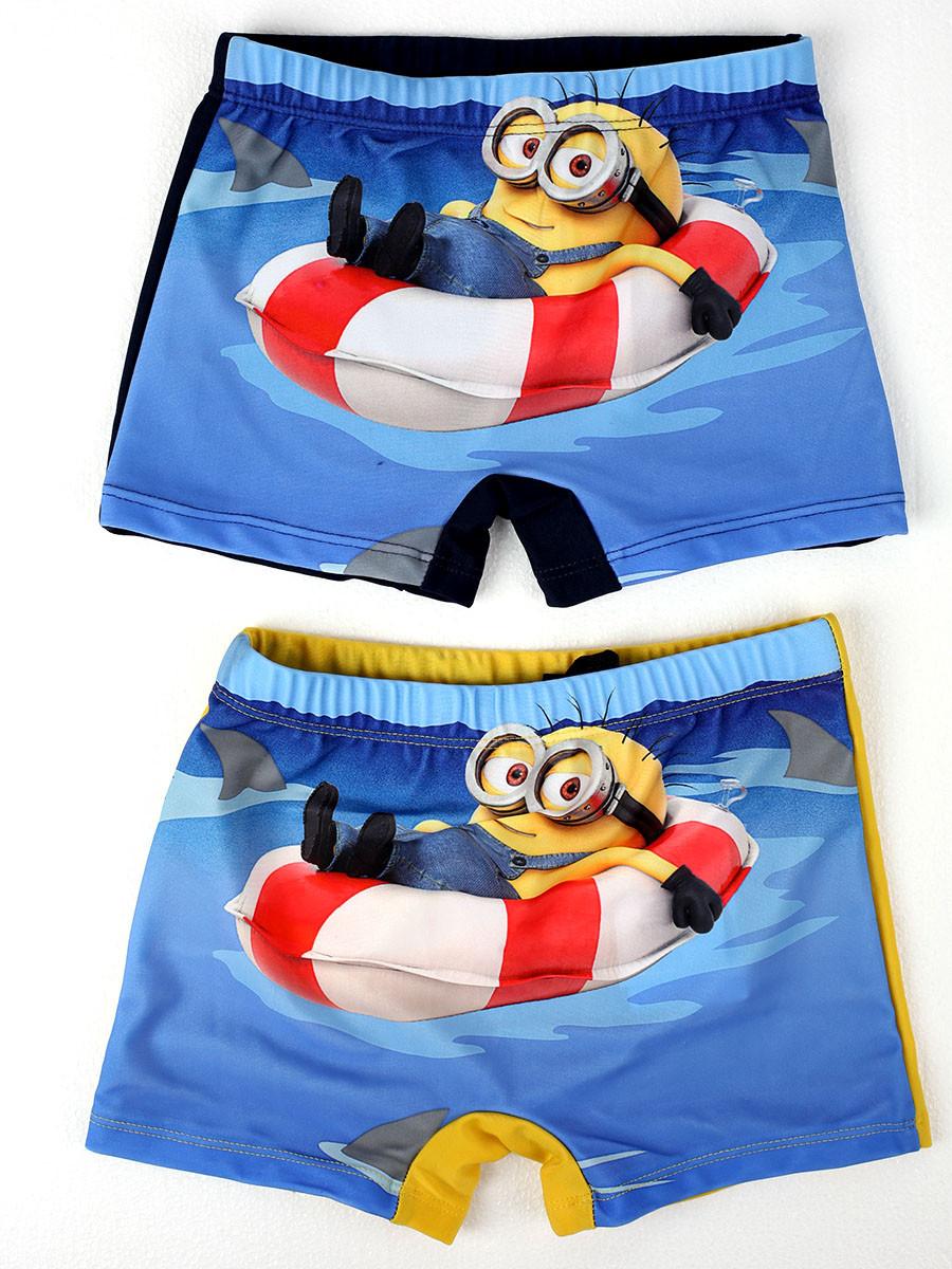 Costume da bagno bimbo boxer minion costumino bambino piscina mare pelusciamo store - Costume neonato piscina ...