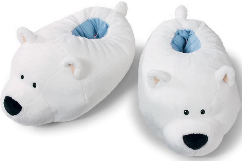 Moppine pantofole peluche nici waldmuller orso polare for Pantofole natalizie