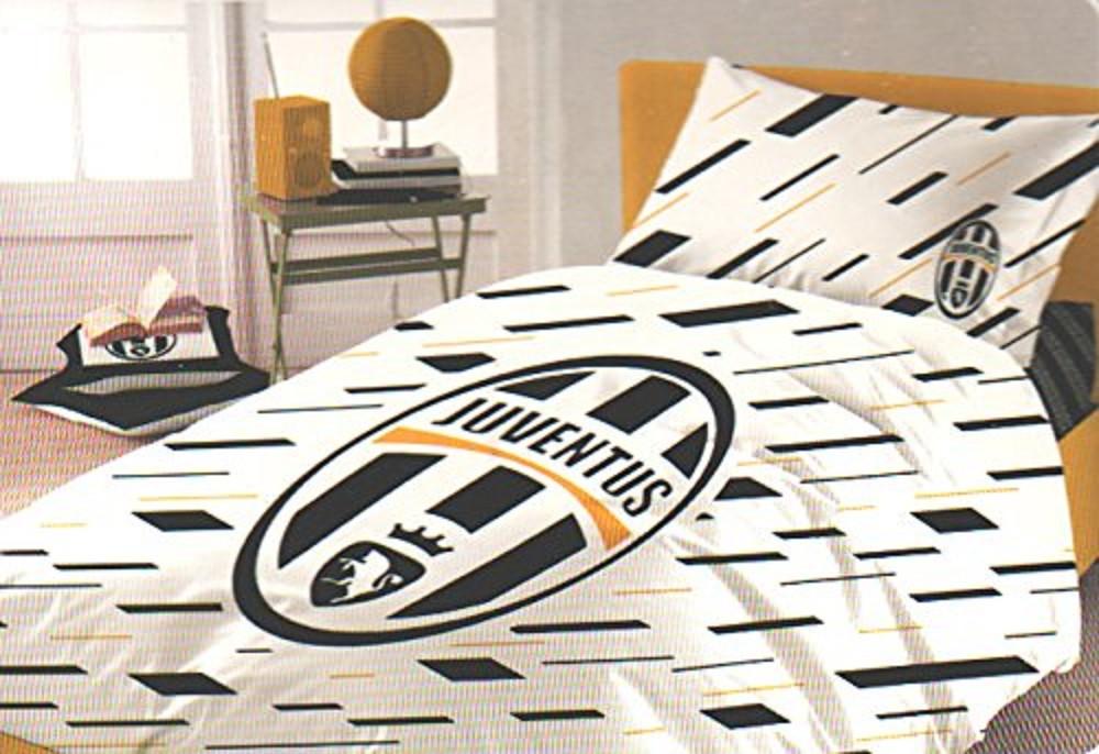 Copripiumino Juventus Singolo.Parure Copripiumino Singolo Juve Juventus Calcio 155x200 05204
