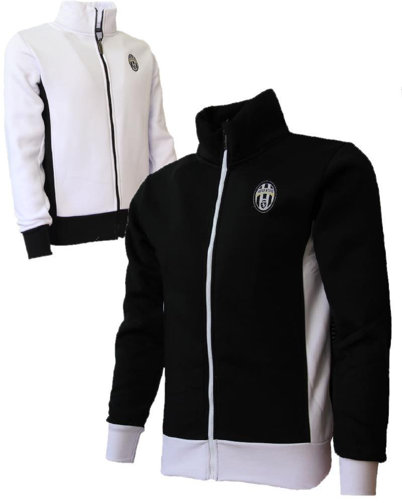 Felpa Juve Con Cerniera Abbigliamento Adulto Juventus PS 25928 Pelusciamo Store Marchirolo