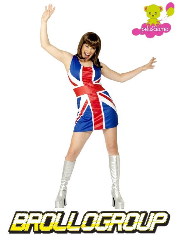 Union Gran Abito Smiffys Costume Carnevale Bretagna Donna Jack roxeWdCBQ