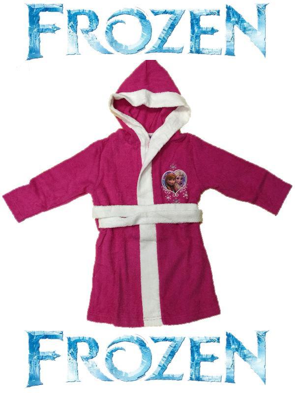 Accappatoio Spugna Bambina Frozen Abbigliamento Disney