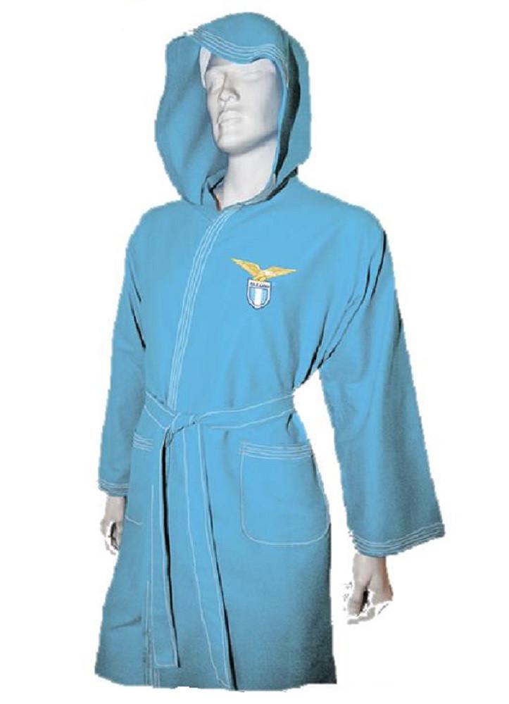 a97be278c9 Accappatoio uomo Microfibra prodotto ufficiale S.S. Lazio calcio *19509  pelusciamo store