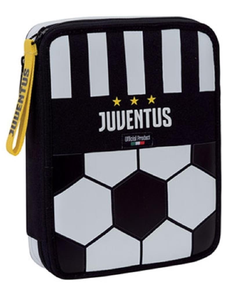 1fc88cff80 Juventus Maxi Astuccio scuola completo 2 Cerniere PS 06717 Scuola Juve  PELUSCIAMO STORE