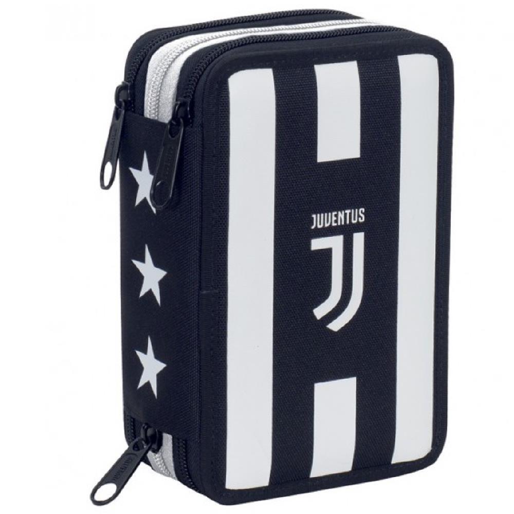 ffe9a4906d Juventus JJ Astuccio Scuola Completo 3 Cerniere PS 06716 Scuola Juve ...