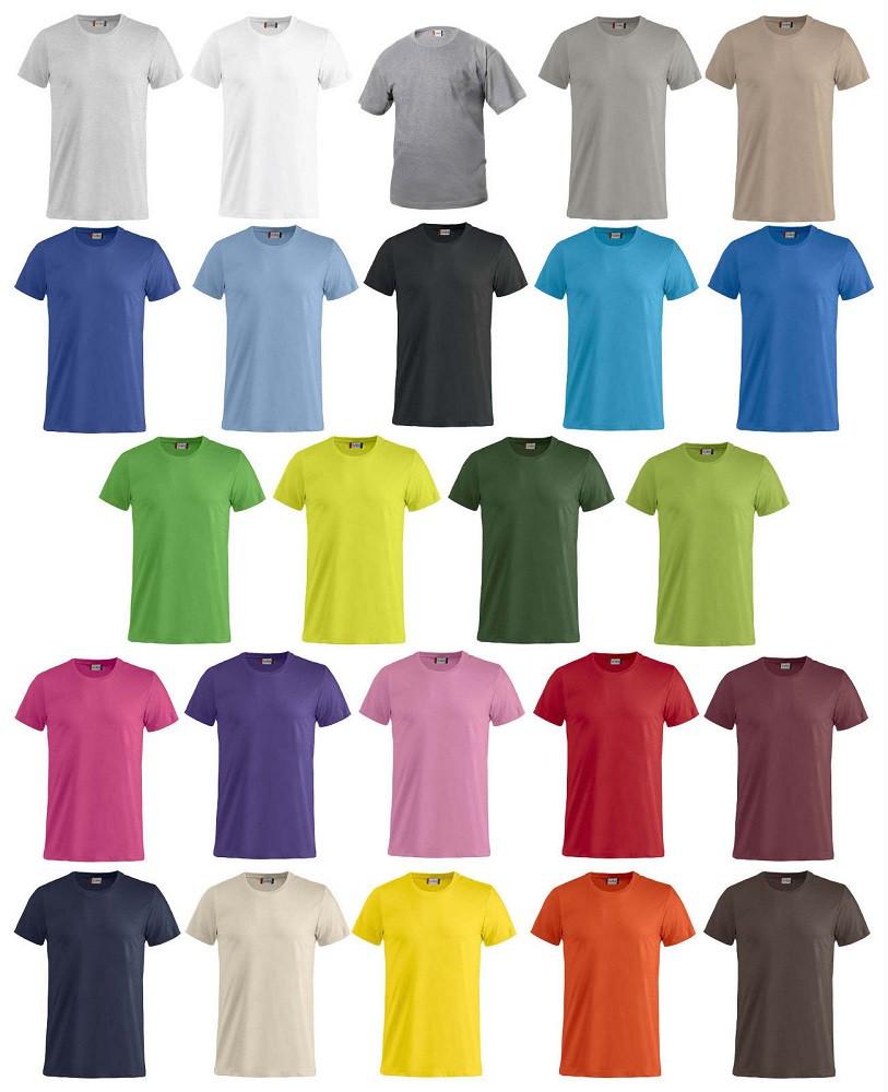 T-shirt Unisex Cotone Pettinato Colletto Elasticizzato, Personalizzabile PS 27431