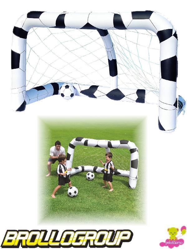 Porta calcio gonfiabile bianconera bestway 52058 00393 - Porta calcio gonfiabile ...