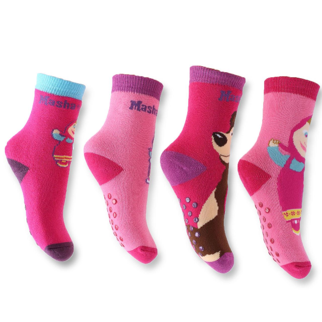 innovative design 32eee 73234 Calze Antiscivolo Bambina Masha e Orso Abbigliamento Bimba *17186