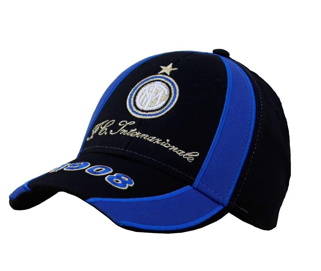 Cappellino Inter Calcio Cappello Baseball Con Visiera PS 04640 pelusciamo  store e1f78ffa8c97