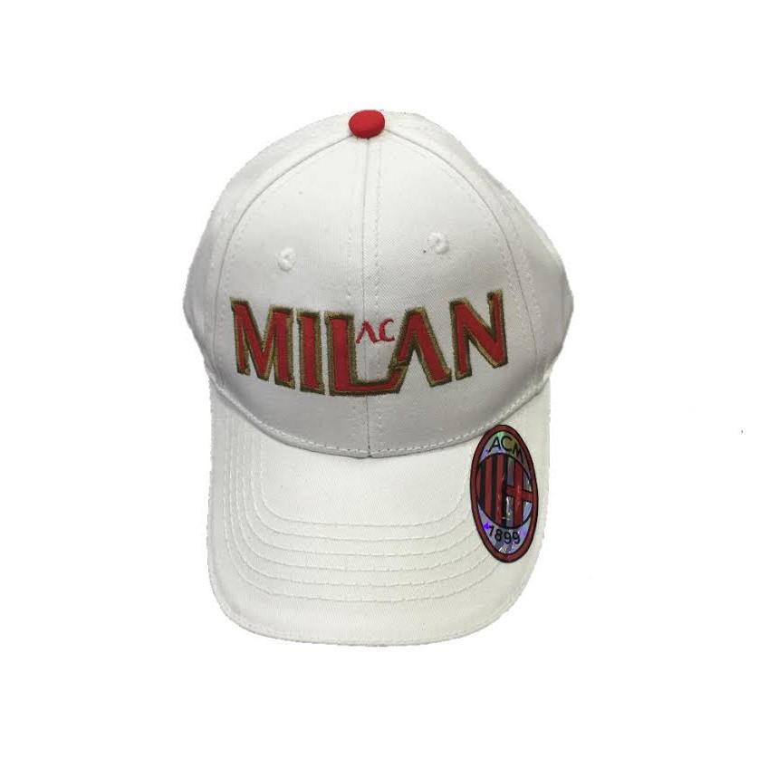 Cappello uomo Baseball A.C. Milan calcio Cappellino con visiera  02774  0ad81600d6ee