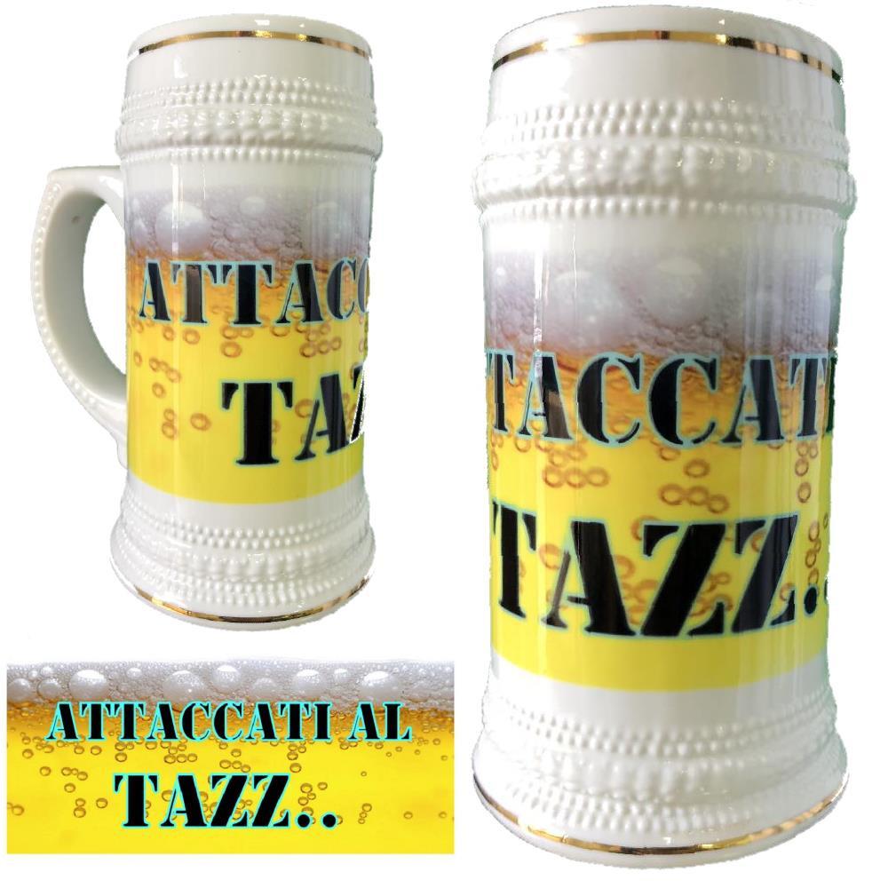 a3b64700af Boccale Birra In Ceramica Attaccati Al Tazz... Boccali Personalizzati PS  13514-3