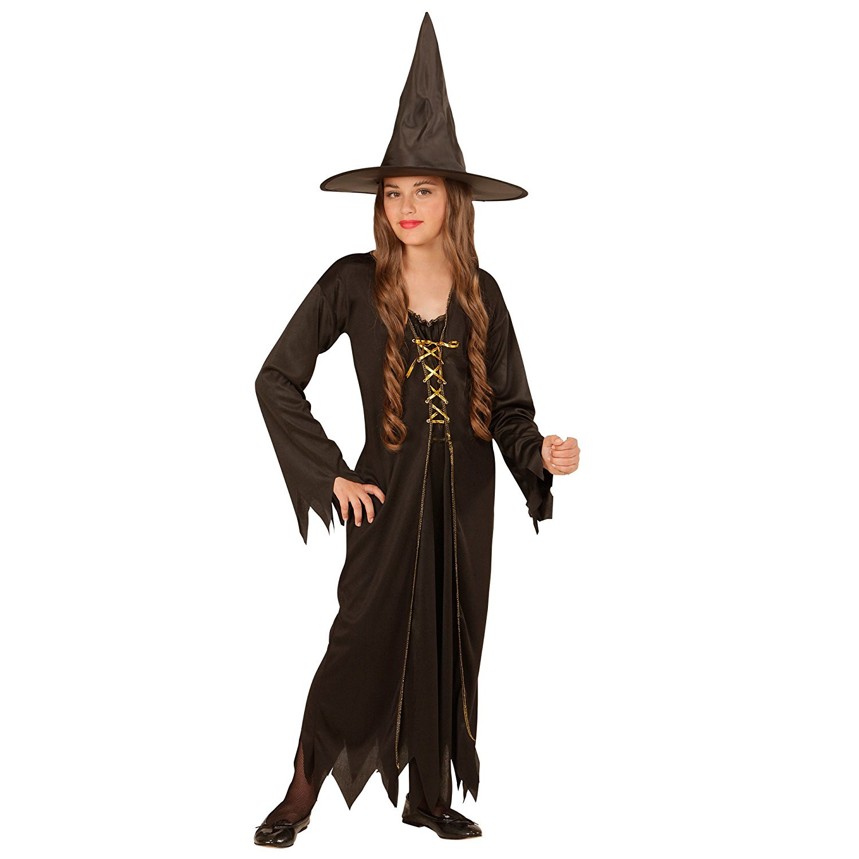 Vestiti Halloween Strega.Costume Halloween Strega Taglie Bimba E Ragazza Ps 22016