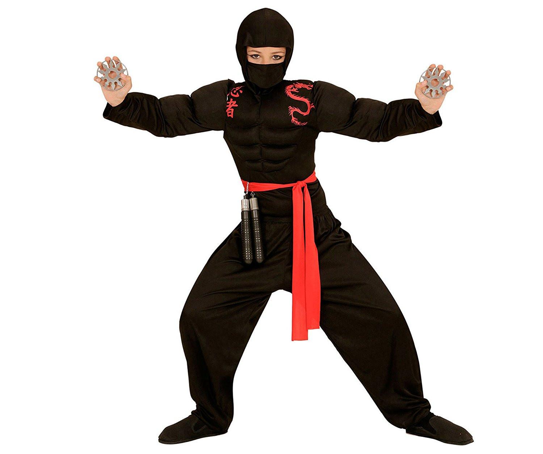 in magazzino los angeles più tardi Costume Carnevale Bambino Guerriero Super Ninja   Pelusciamo.com
