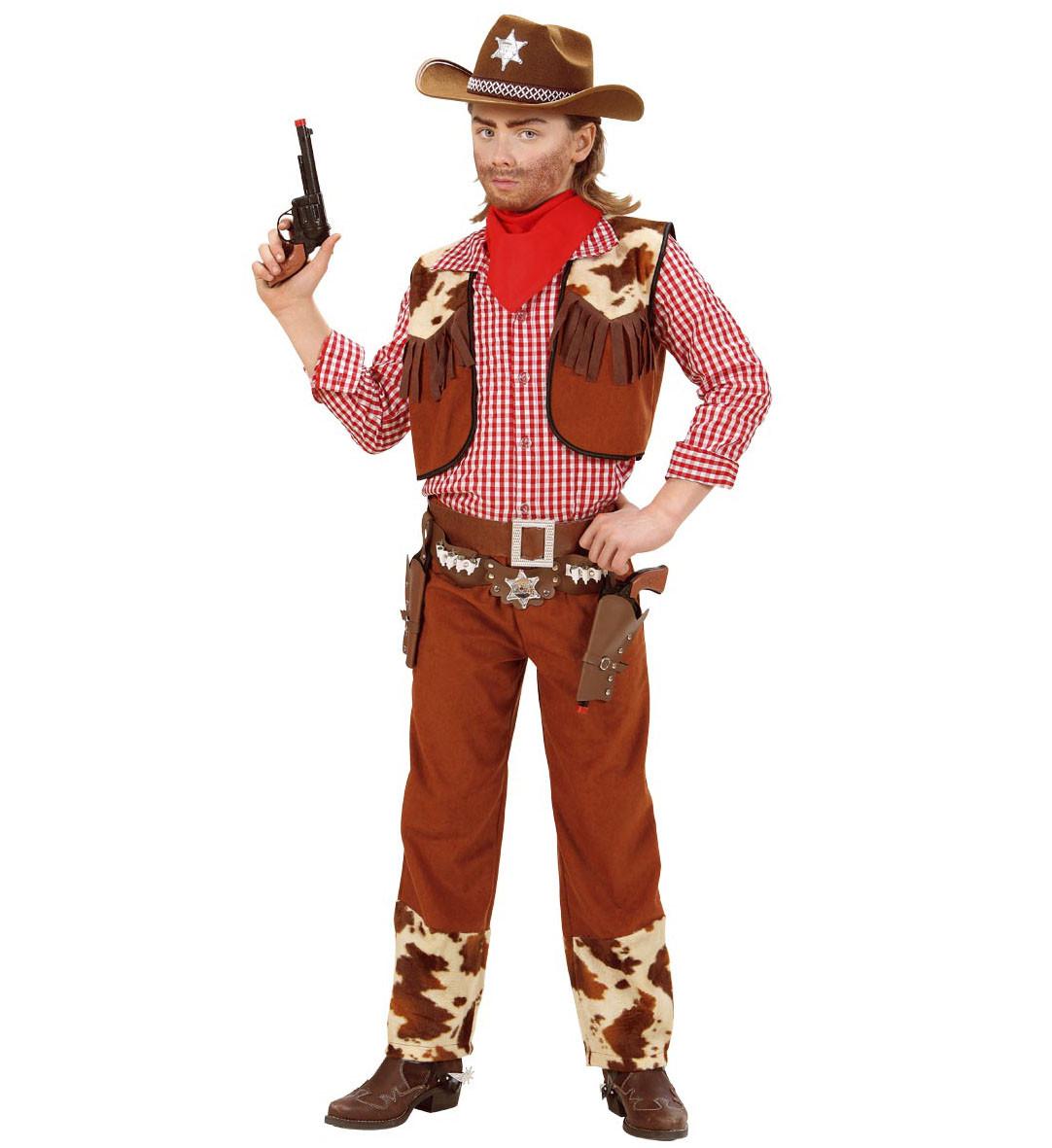 costume carnevale bimbo cowboy ps 24913 far west. Black Bedroom Furniture Sets. Home Design Ideas