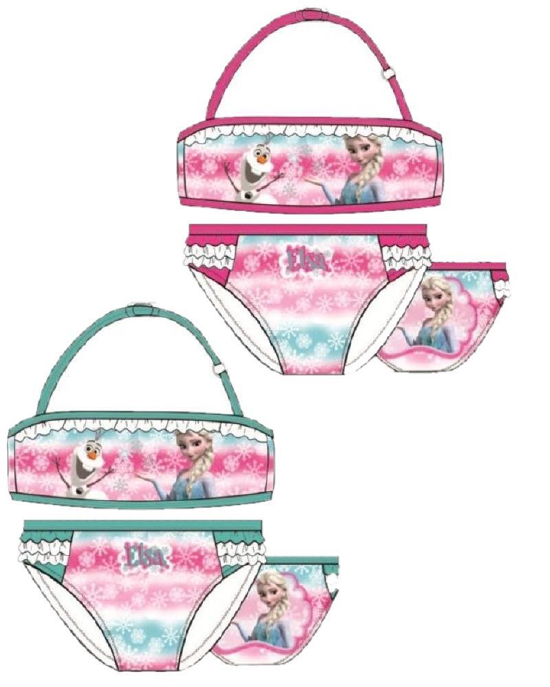 Costume da bagno disney bimba bikini frozen piscina mare 23694 pelusciamo store - Costumi da bagno bimba ...