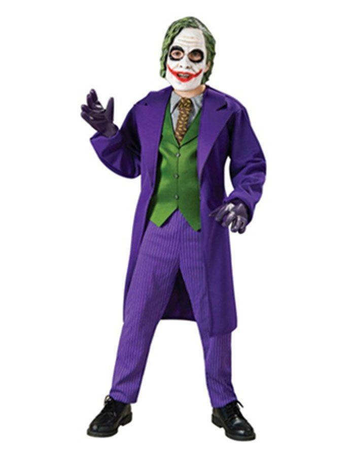 massimo stile davvero economico vendita calda genuina Costume Carnevale Bambino Joker , serie Batman *01364