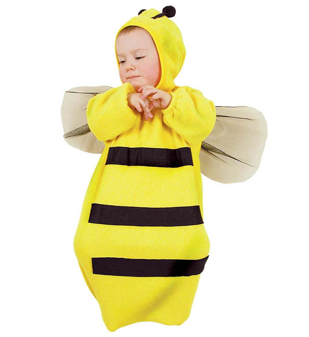 Costume carnevale neonato da ape a sacco 0 mesi ps 19446 - Costume bagno neonato ...