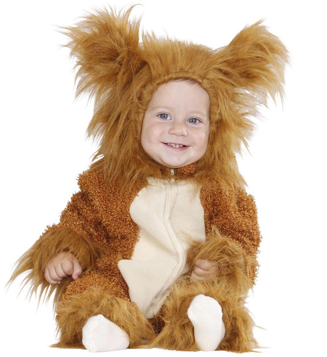 Vestito carnevale neonato leone