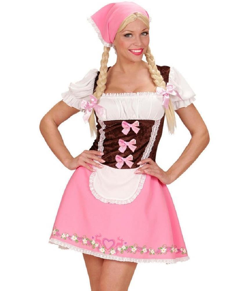 ultime tendenze acquistare prima i clienti Costume Carnevale Cameriera Bavarese Festa Birra Oktoberfest PS 08656