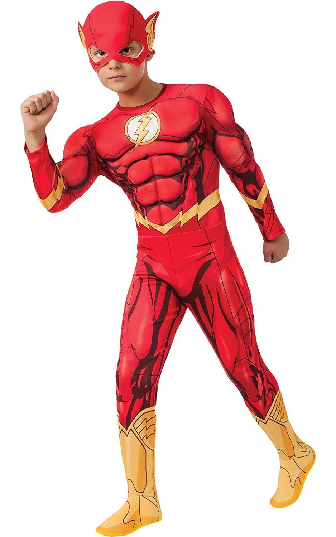 cerca l'originale qualità autentica top design Costume Carnevale Flash Con Muscoli Dc Comics PS 05176 Ufficiale Rubies