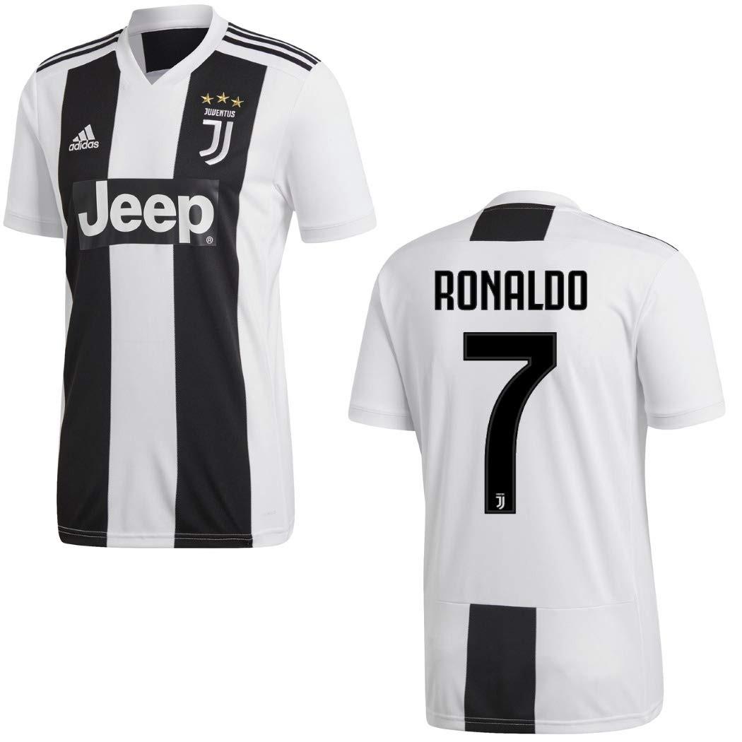 Varie Taglie Disponibili T-Shirt Maglia Juventus Ufficiale Bambino//Ragazzo Collezione Black And Withe