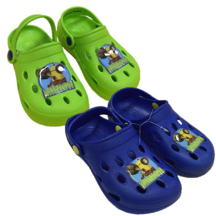 design elegante outlet online outlet Ciabatte Bambino tipo crocs Minion Pantofole Estive Bimbo *23821