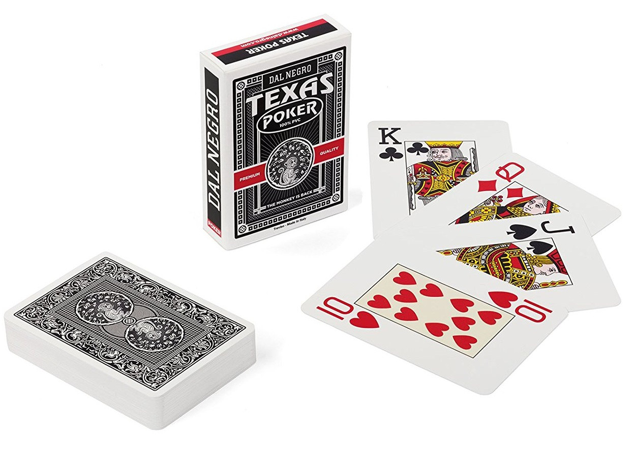 carte da gioco texas poker monkey nero dal negro ps 07380 pelusciamo store. Black Bedroom Furniture Sets. Home Design Ideas