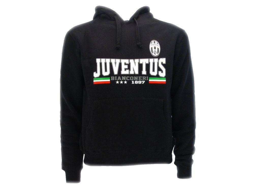 Felpa Juventus Uomo Con Cappuccio PS 24816 Abbigliamento Ufficiale Juve