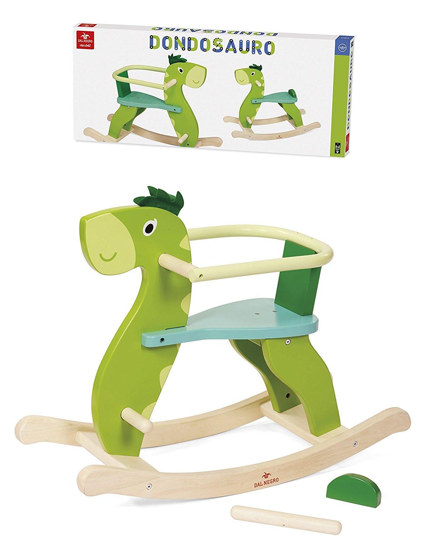 Giochi in legno per bambini dondolo dondosauro ps 08199 for Montaggio dondolo