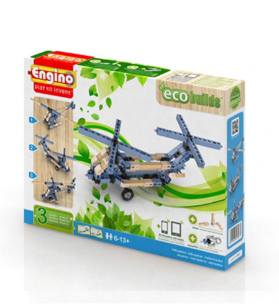 Engino inventor eco friendly elicotteri gioco di for Progetti di edilizia eco friendly
