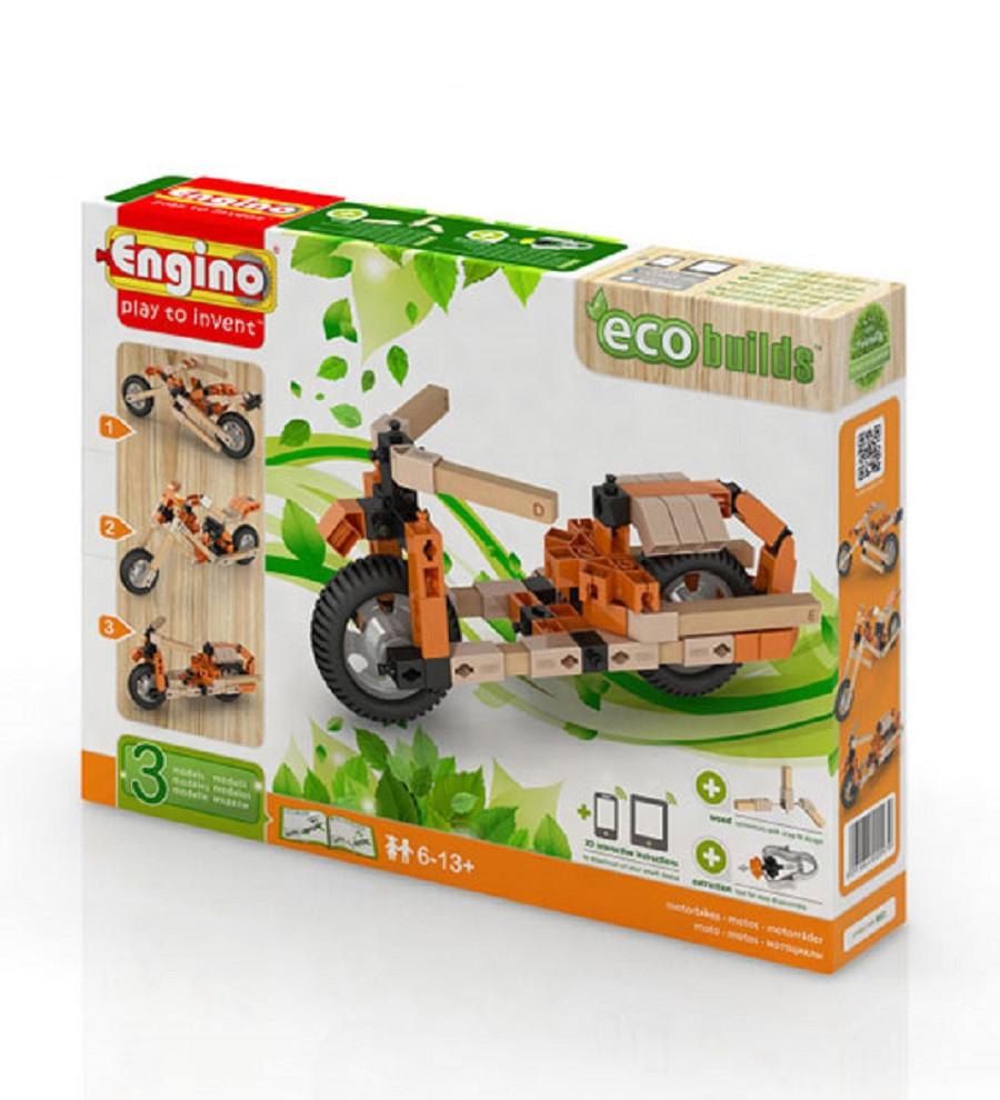 Engino inventor eco friendly motorbikes gioco di for Progetti di edilizia eco friendly