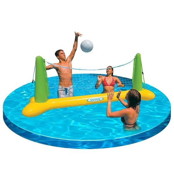 Rete pallavolo gonfiabile 139x64x91 gonfiabili intex 08548 pelusciamo store - Rete pallavolo piscina ...