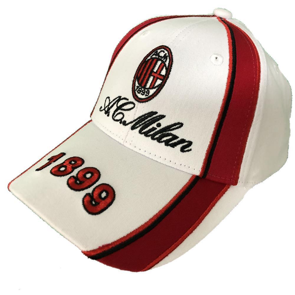 Cappellino Baseball Uomo Cappello Milan Con Visiera A.C.Milan PS 09791  pelusciamo store Marchirolo 2f674706b573