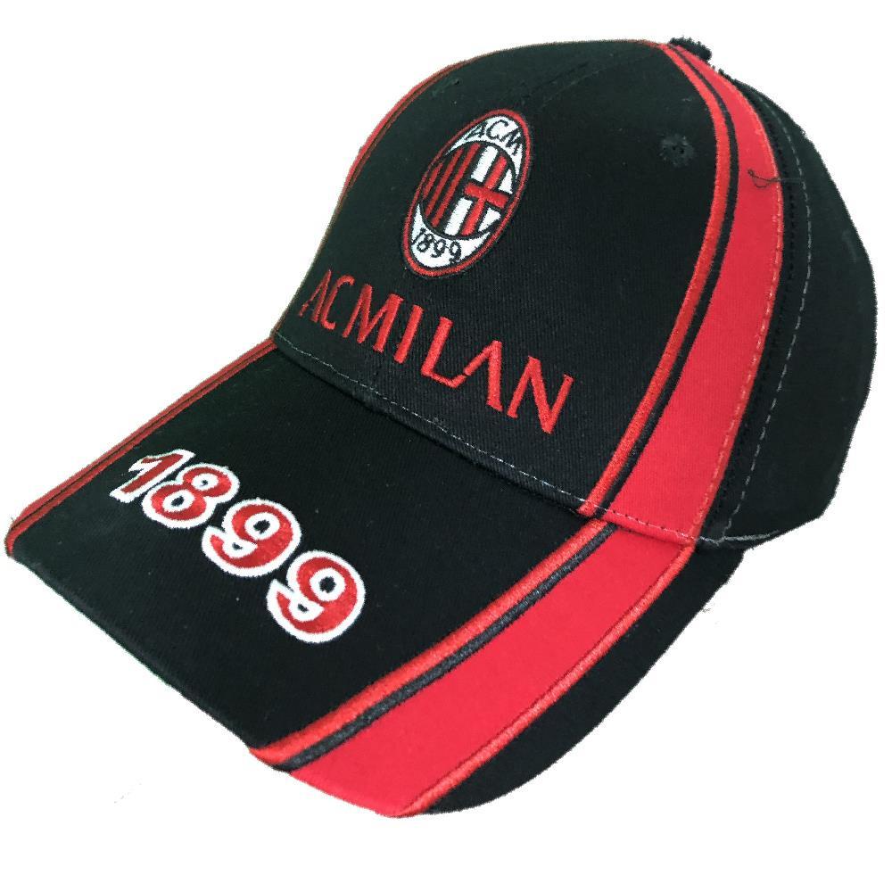 Cappellino Baseball Uomo Cappello Milan Con Visiera A.C.Milan PS 09790 b9779b2c1940
