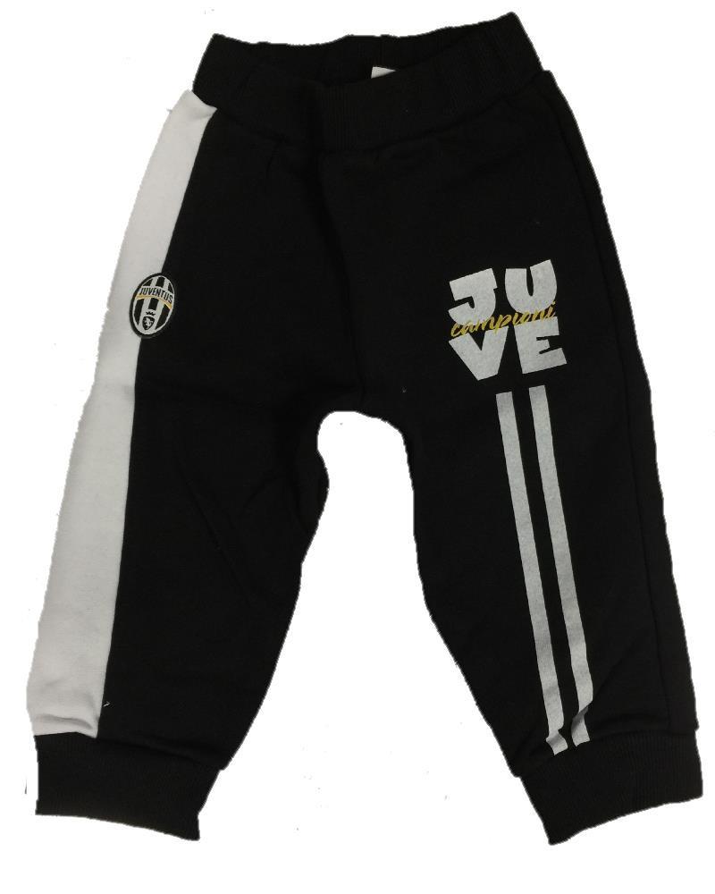 Pantaloni Felpati Tuta Juve Abbigliamento Neonato Juventus PS 09781 Logo  Storico 349f6be8daed