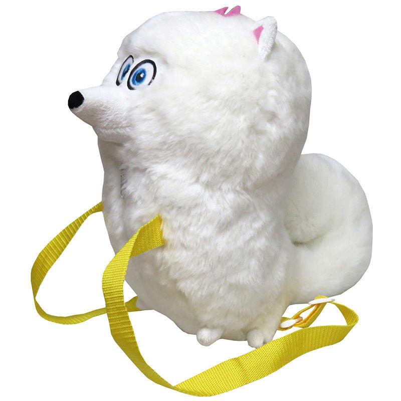 Zainetto in Peluche Secret life of pets cane Gidget 40 cm 04463 vita da animali pelusciamo store