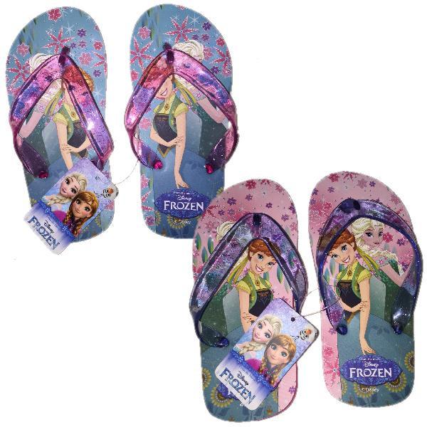 migliore vendita prezzo competitivo forma elegante Infradito Bimba Frozen Disney Ciabatte Bambina Estive Anna Elsa *23745