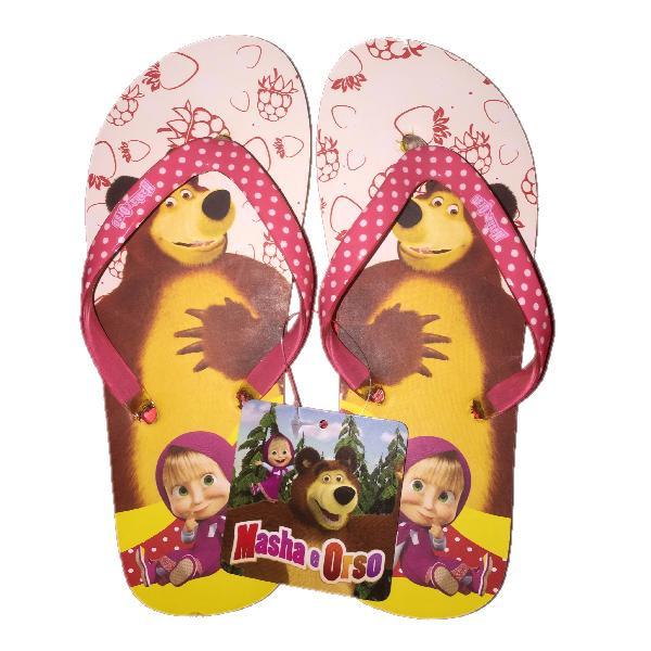 nuova selezione outlet in vendita scegli l'autorizzazione Infradito Bimba Masha e Orso Ciabatte Estive Bambina *23756